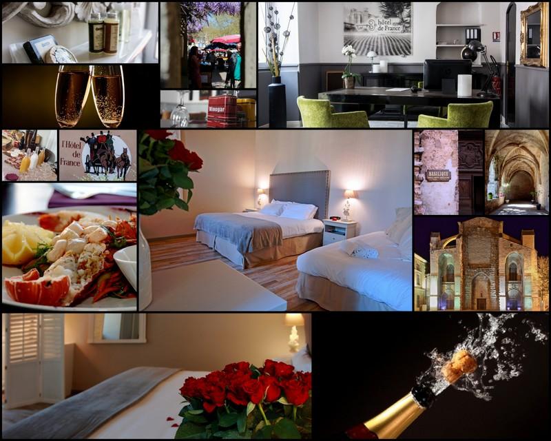 h tel de france saint maximin. Black Bedroom Furniture Sets. Home Design Ideas